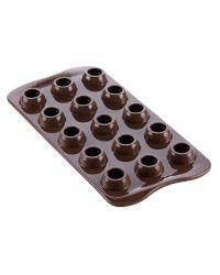 "Molde Silicona Para Chocolates ""Huevo de Pascua"" - SILIKOMART"