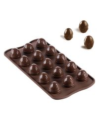"""Silicone Chocolate Mold """"Easter Egg"""" - 11 x 21cm"""