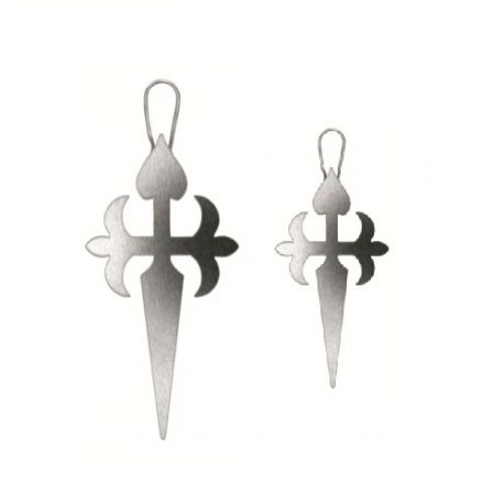 """Stencil """"Cross of the Order of Santiago"""" x2"""