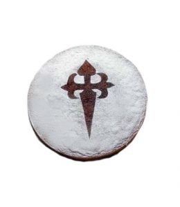"""Stencil """"Cross of the Order of Santiago"""""""
