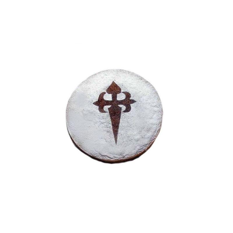 Stencil Quot Cross Of The Order Of Santiago Quot X2 Ibili