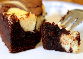La recette du brownie Black and White